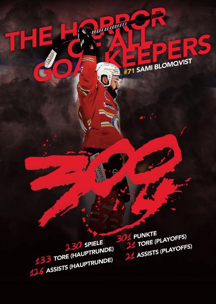 Sami Blomqvist 300 Poster A2